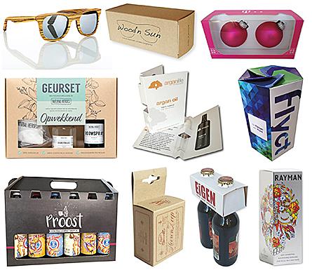 Voorbeeld van milieuvriendelijke verpakking voor cosmetica, milieuvriendelijke verpakking voor drank