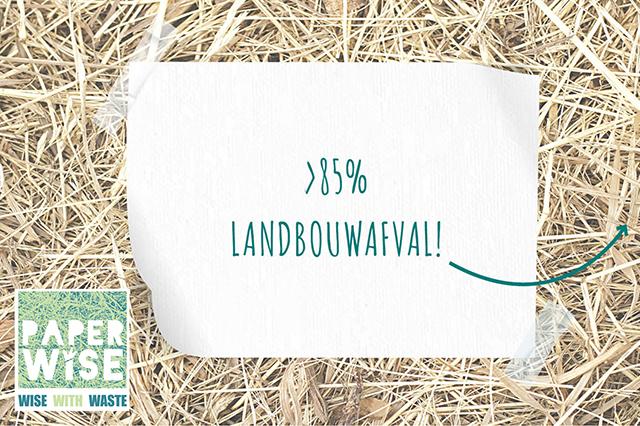 Paper Wise, papier en karton van landbouwafval
