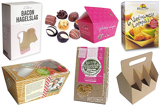 Voorbeeld van milieuvriendelijke verpakking voor voeding, milieuvriendelijke verpakking voor drank