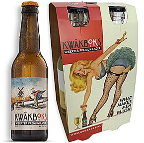 Voorbeeld van milieuvriendelijke verpakkingen, verpakking bierflesjes, draagkarton bierflesjes